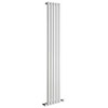 Reina Neva Vertical Single Panel Designer Radiator - RAL Colour Options profile small image view 1