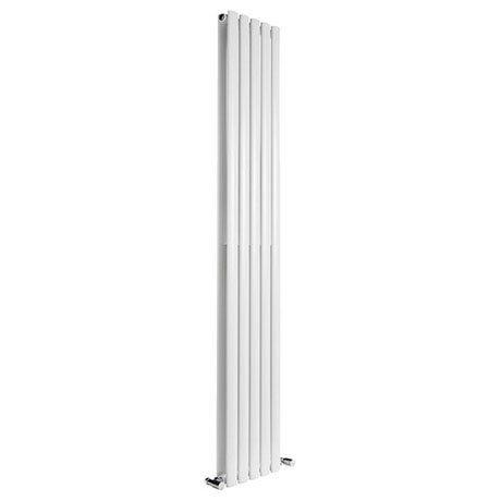 Reina Neva Vertical Double Panel Designer Radiator - White
