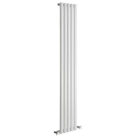 Reina Neva Vertical Single Panel Designer Radiator - White