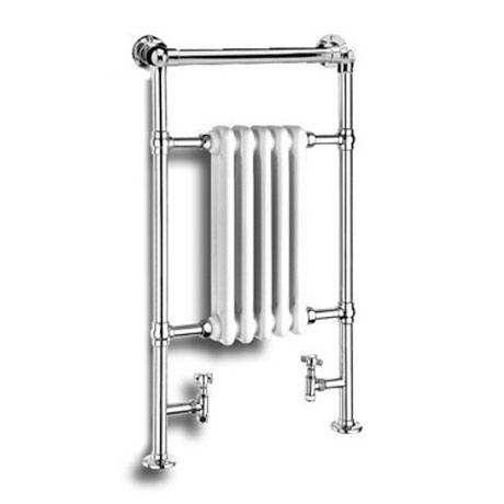 Reina Oxford Traditional Towel Rail Radiator - 960 x 538mm Large Image