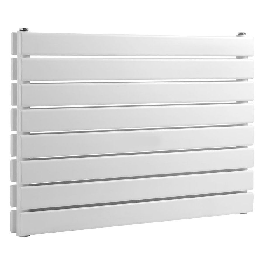 Reina Rione Double Panel Steel Designer Radiator - White profile large image view 3