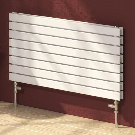 Reina Rione Double Panel Steel Designer Radiator - White