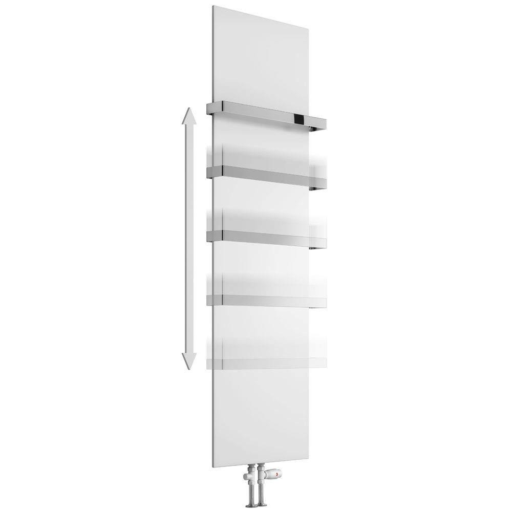 Reina Slimline Chrome Towel Bar profile large image view 2