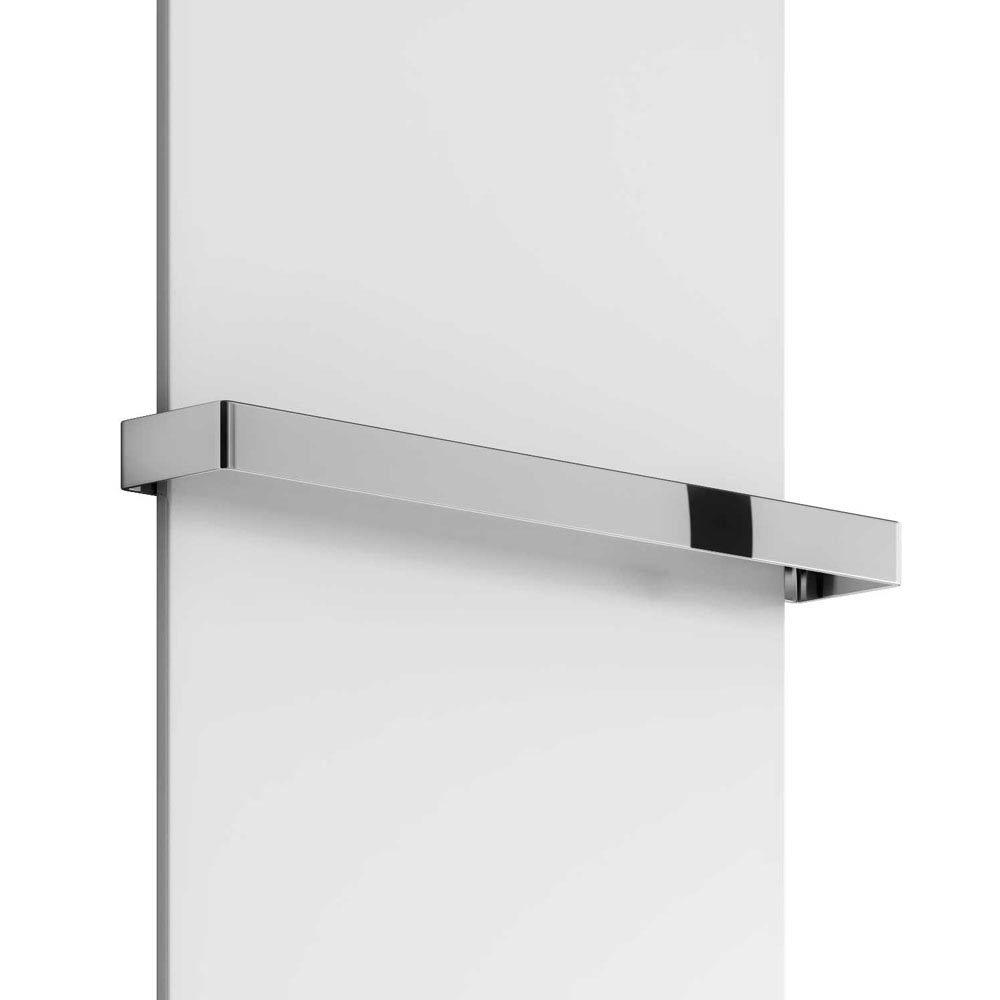 Reina Slimline Chrome Towel Bar Large Image