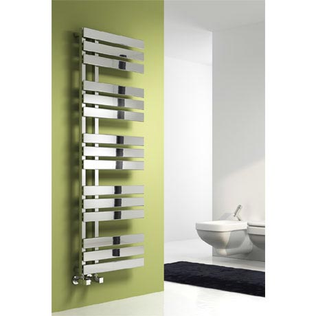 Reina Sesia Steel Designer Radiator - Chrome
