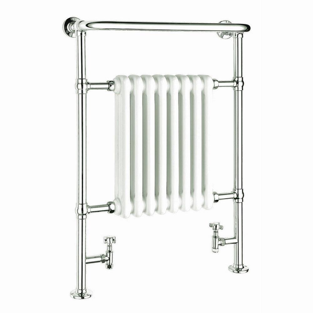 Reina Victoria Traditional Towel Rail Radiator - 960 x 675mm Large Image