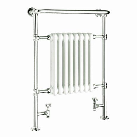 Reina Victoria Traditional Towel Rail Radiator - 960 x 675mm