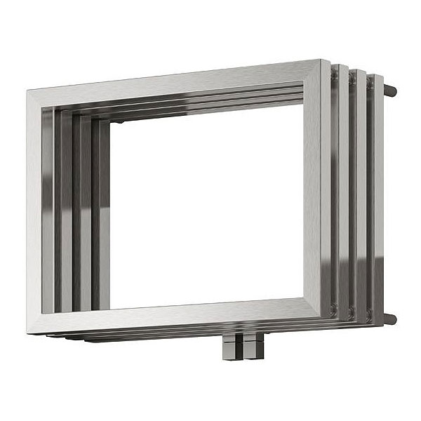 Reina Caldo Stainless Steel Radiator - 500 x 700mm - Satin Feature Large Image
