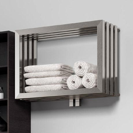 Reina Caldo Stainless Steel Radiator - 500 x 700mm - Satin