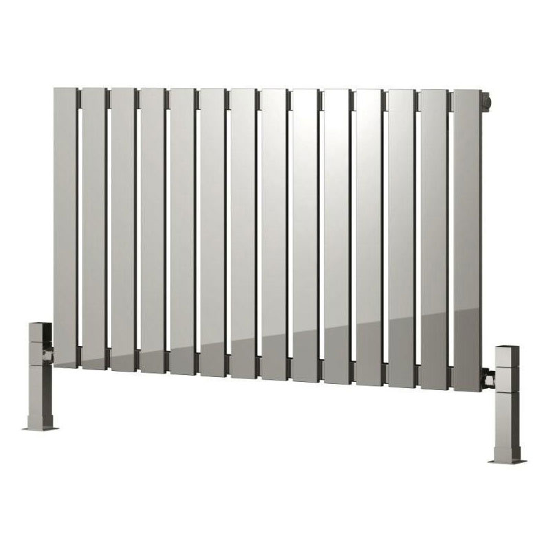 Reina Calix Stainless Steel Radiator - Polished profile large image view 2