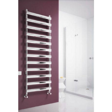 Reina Deno Stainless Steel Radiator - Satin