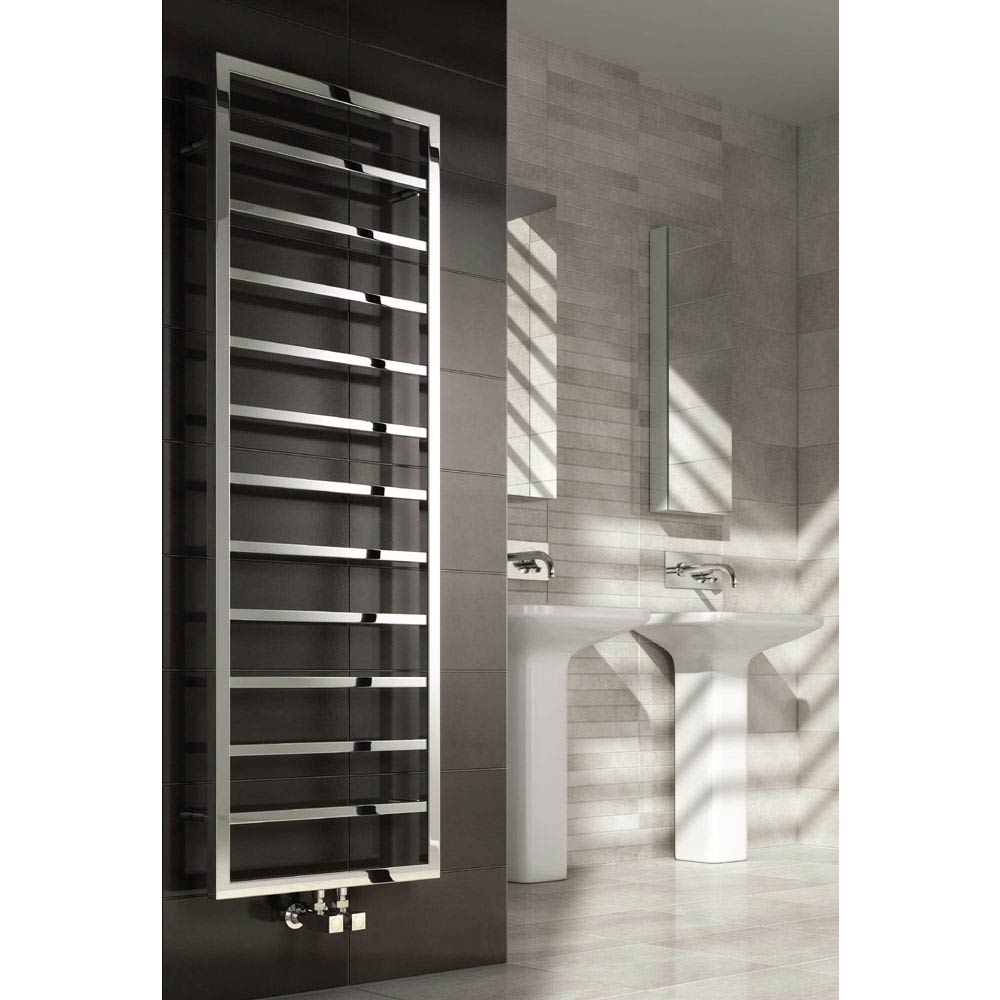 Reina Egna Stainless Steel Radiator - Polished profile large image view 1
