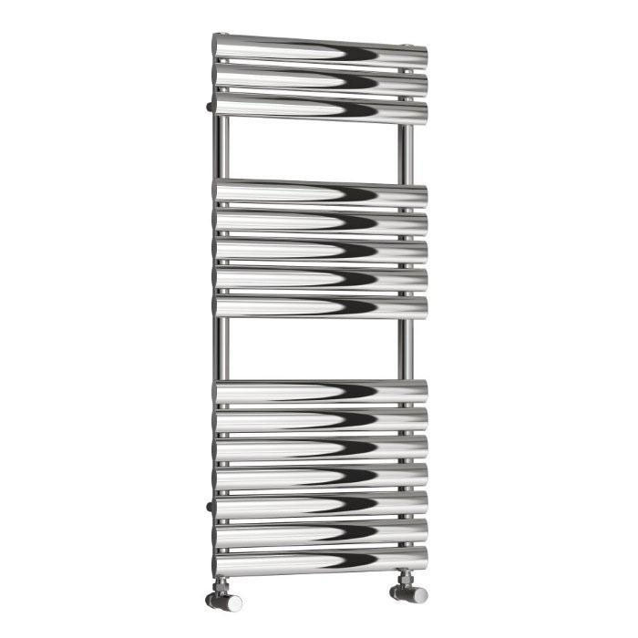 Reina Helin Stainless Steel Radiator - Polished Profile Large Image