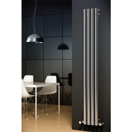 Reina Harmony Stainless Steel Radiator - 1800 x 250mm - Satin