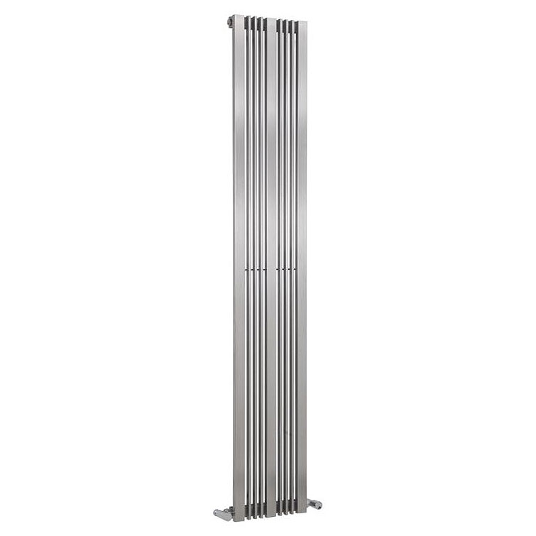 Reina Karia Stainless Steel Radiator - Satin profile large image view 2