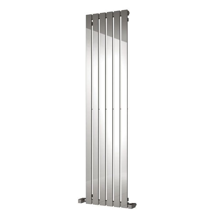 Reina Lavian Stainless Steel Radiator - Polished profile large image view 2