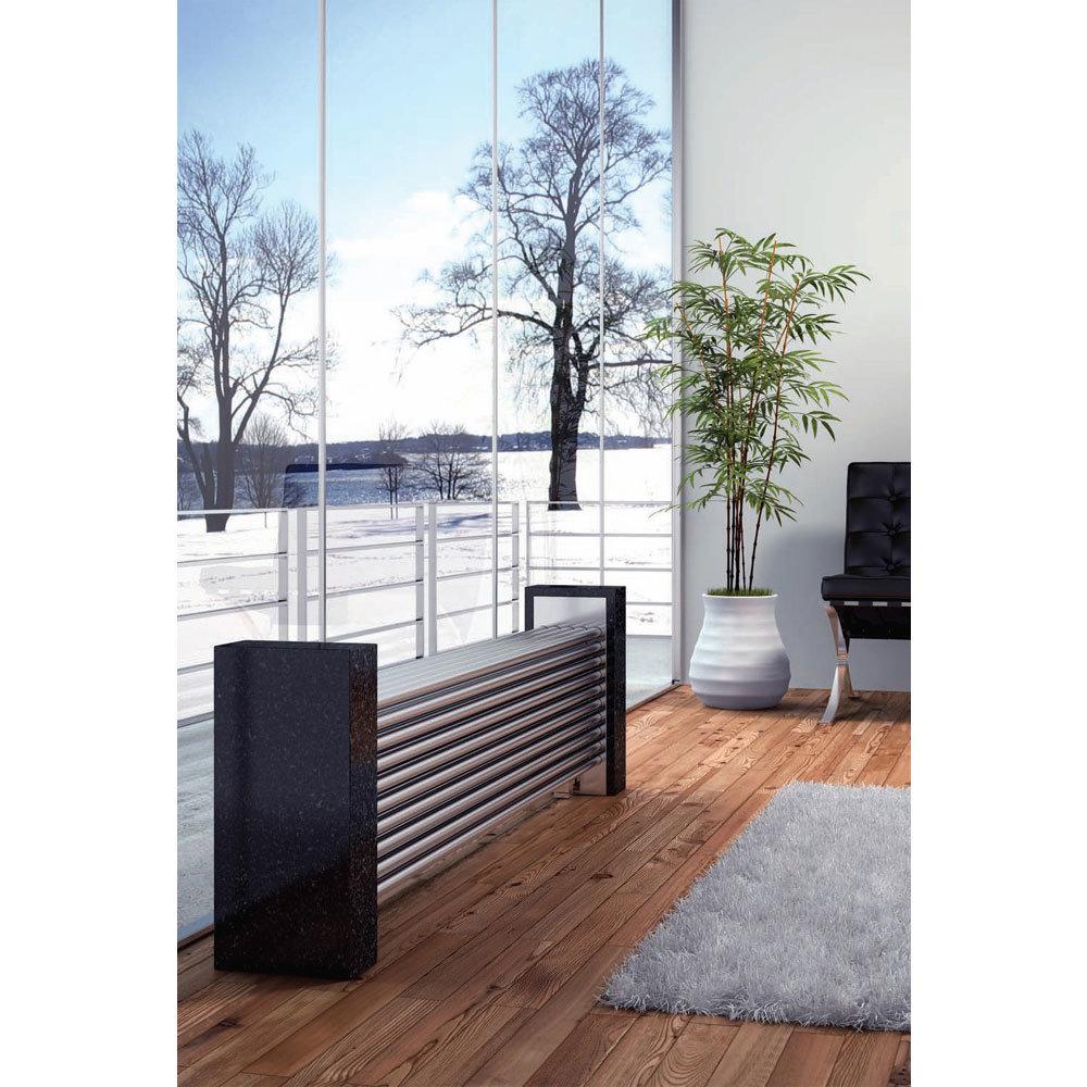 Reina Marinox Stainless Steel Radiator - Satin profile large image view 2