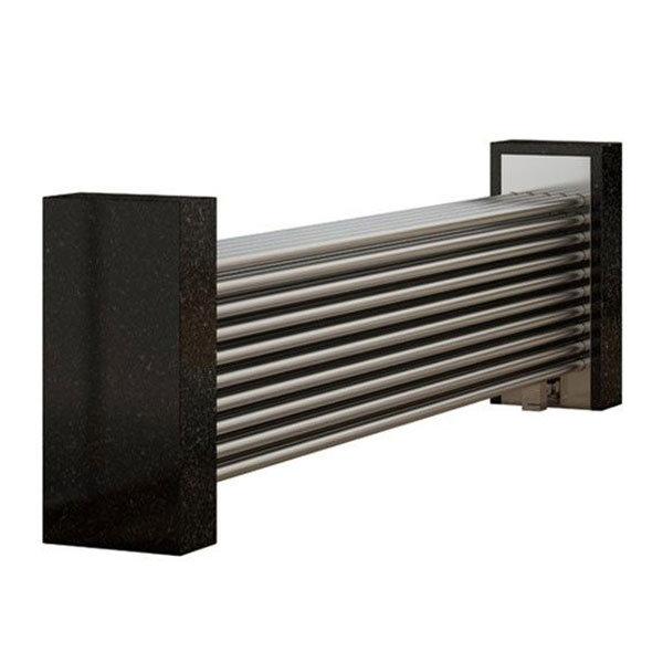 Reina Marinox Stainless Steel Radiator - Satin Large Image