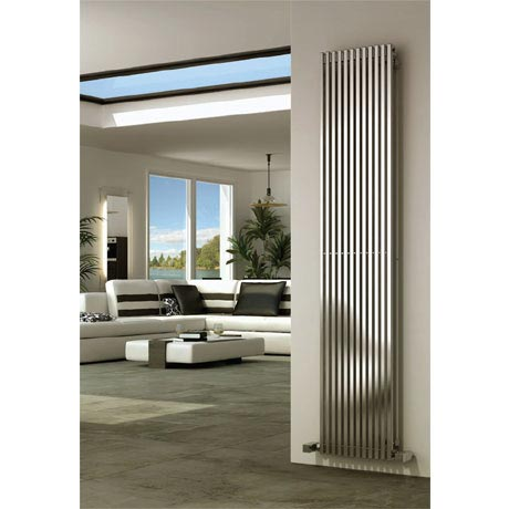 Reina Odin Stainless Steel Radiator - Satin