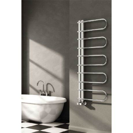 Reina Oglio Stainless Steel Radiator - Polished
