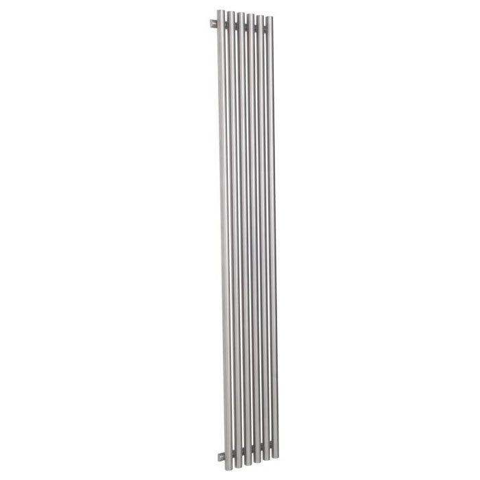 Reina Orthia Stainless Steel Radiator - Satin profile large image view 3