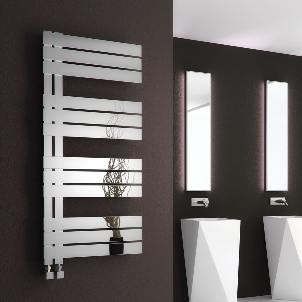 Reina Ricadi Stainless Steel Radiator - Polished Large Image