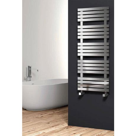 Reina Sienna Stainless Steel Radiator - Satin