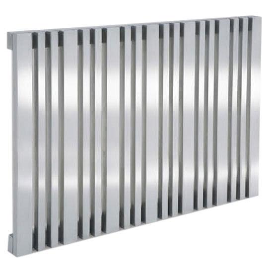 Reina Versa Stainless Steel Radiator - Satin Profile Large Image