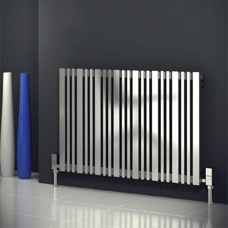 Reina Versa Stainless Steel Radiator - Satin