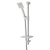 MX Combo Air Single Mode Adjustable Shower Kit - White/Chrome - RNU profile small image view 1