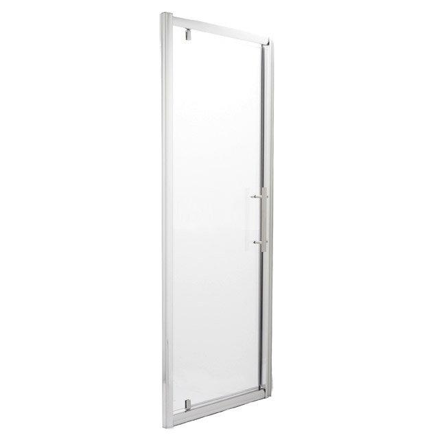Ultra Roma Pivot Shower Door - 2 Size Options Large Image