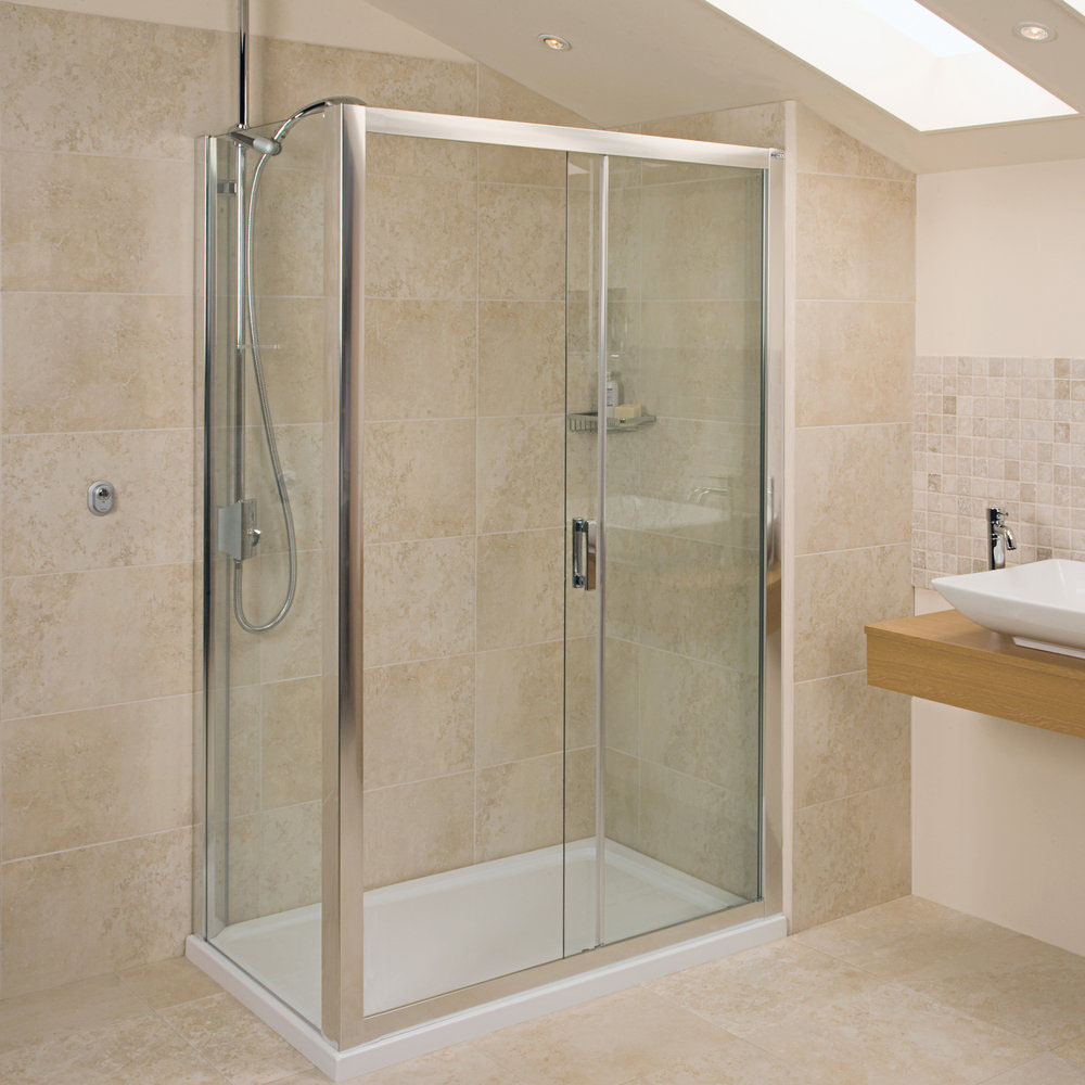 Roman - Embrace Sliding Shower Door Only - 3 Size Options