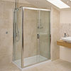 Roman - Embrace Sliding Shower Door Only - 3 Size Options profile small image view 1