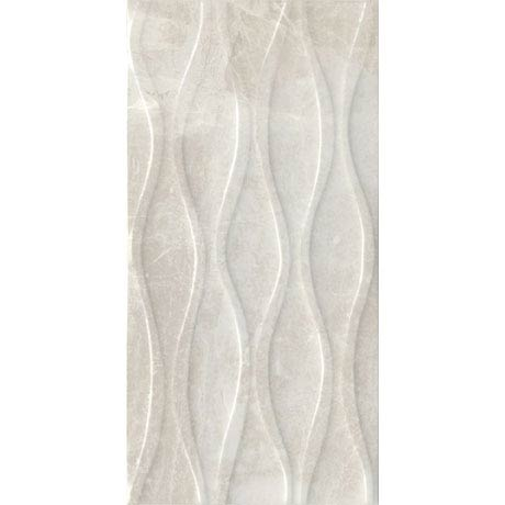 Gio Bone Gloss Marble Effect Decor Wall Tiles - 30 x 60cm