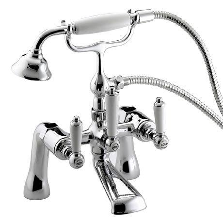 Bristan Renaissance Bath Shower Mixer - Chrome Plated - RS-BSM-C