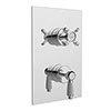 Bristan - Renaissance Thermostatic Recessed Dual Control Shower Valve - RS2-SHCVO-C profile small image view 1
