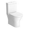 RAK Resort Mini Rimless Close Coupled BTW Toilet + Quick Release Soft Close Urea Seat profile small image view 1