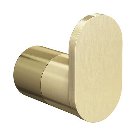 Arezzo Brushed Brass Robe Hook