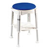 Drive DeVilbiss Bath Stool with Rotating Padded Seat - RTL12061 profile small image view 1