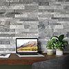 Runda Grey Split Face Tiles - 303 x 613mm Small Image
