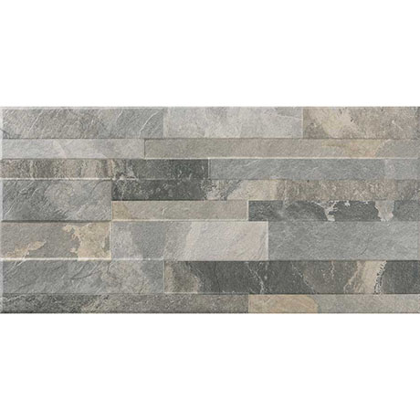 Runda Mixed Split Face Tiles - 303 x 613mm