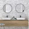 Runda White Marble Split Face Tiles - 303 x 613mm Small Image