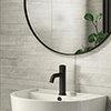 Runda White Slate Effect Split Face Tiles - 303 x 613mm Small Image