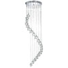 Revive Modern Chrome Ice Cube Chandelier profile small image view 1