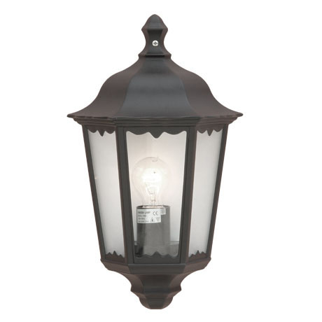 Revive Outdoor Traditional Black Wall Coach Lantern
