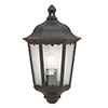 Revive Outdoor Traditional Black Wall Coach Lantern profile small image view 1