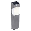 Revive Outdoor Solar PIR Stainless Steel Bollard Light profile small image view 1