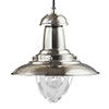 Revive Silver Fishermans Pendant Ceiling Light profile small image view 1