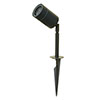 Revive Outdoor Modern Black Spike Light profile small image view 1