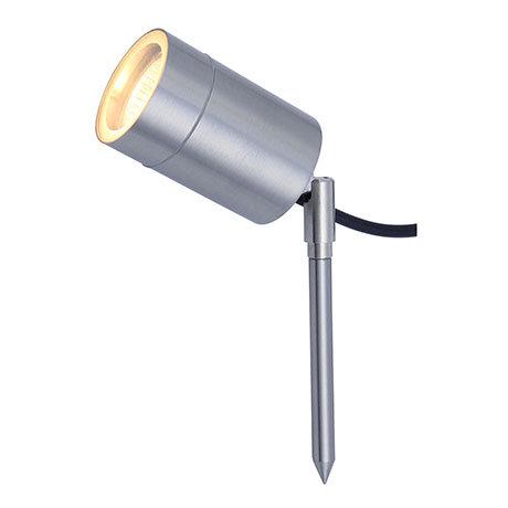 Revive Outdoor Modern Stainless Steel Spike Light